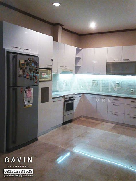Kulkas Kitchen kitchen set murah dengan kabinet kulkas kitchen set bintaro