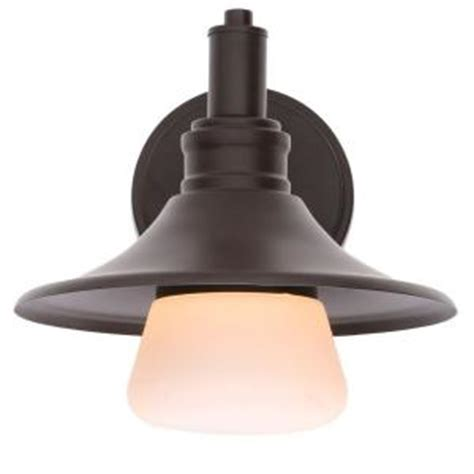 home decorators collection hyannis 1 light bronze outdoor