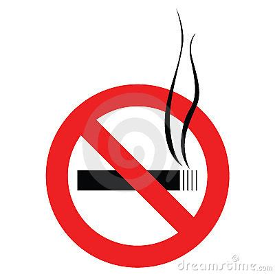 no smoking sign vector ai no smoking sign stock photography image 4052632