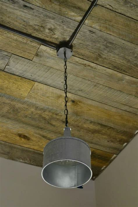 Wood Ceiling L craftaholics anonymous 174 how to add a wood ceiling diy