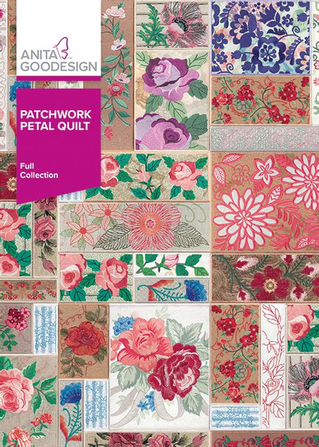 How Do You Do Patchwork - patchwork petal quilt goodesign