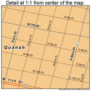 quanah map 4860044