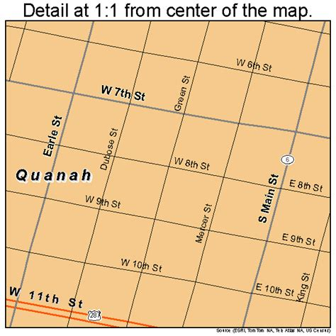 quanah texas map quanah texas map 4860044