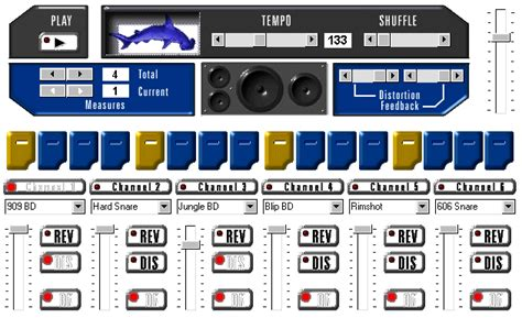 drum rhythm pattern generator hammerhead rhythm station drum machine