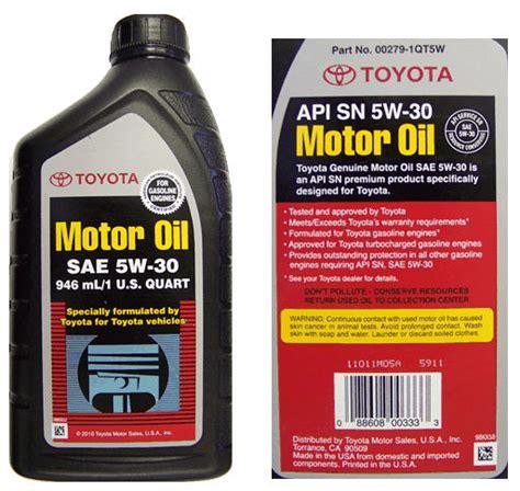 Toyota 10w30 Motor Los Aceites Y Los Filtros De Aceite Para Motores P 225 148
