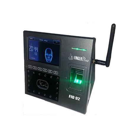 Mesin Absensi Sensor Wajah harga jual fingerplus fid 92 wifi mesin absensi wajah