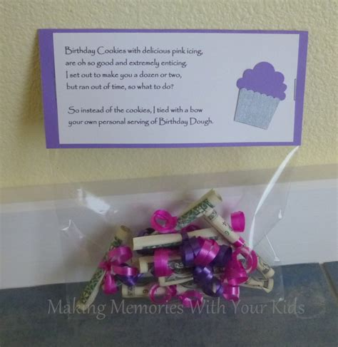 Gift Cards That Give Cash Back - birthday money gift idea making memories with your kids