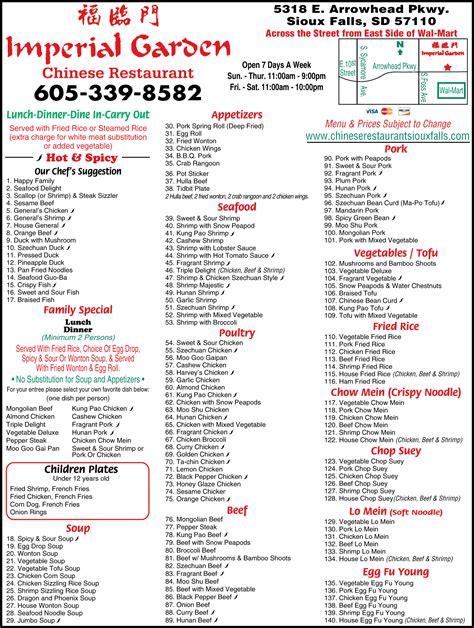 imperial garden sioux falls imperial garden restaurant sioux falls sd 57110