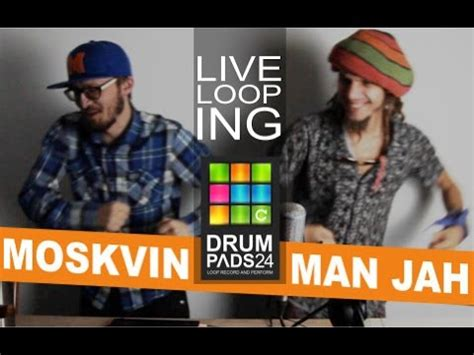 Kaos Peace Drums moskvin jah abstract live looping jam drum pads 24