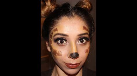 giraffe  bratz doll makeup tutorial easy halloween