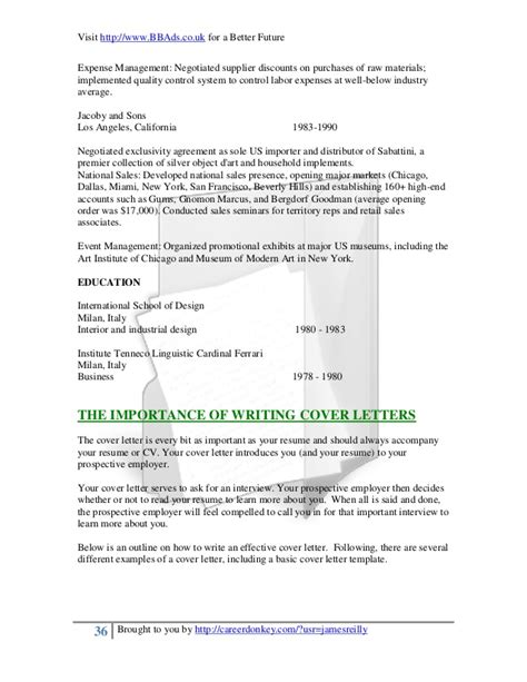 Black Letter Approach A Professional Approach To Resumes And Cover Letters