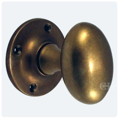 Oval Brass Door Knobs by 1754 Oval Mortice Door Knobs In Brass Bronze Chrome