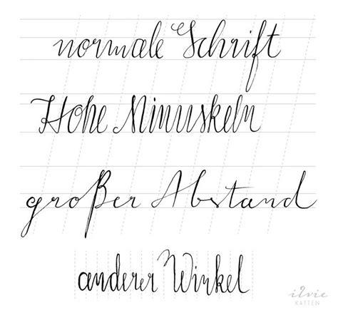 Moderne Kalligraphie Vorlagen Die Besten 17 Ideen Zu Buchstaben Vorlagen Auf