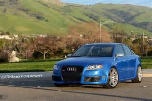 Audi Rs4 B7 by Arturo S Sprint Blue B7 Audi Rs4 Suspension Upgrades