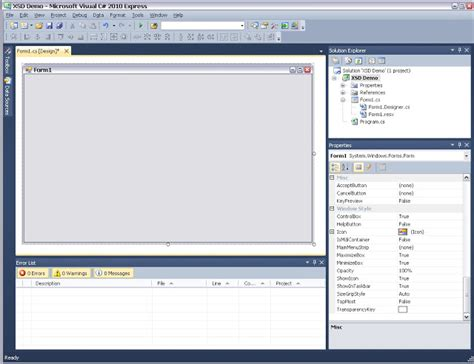 xml tutorial with c visual studio journey easy xml dataset tutorial in visual