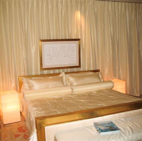 draped walls bedding and draped wall