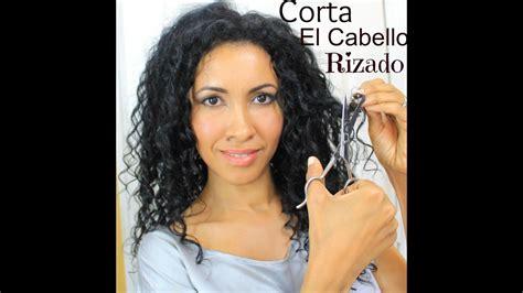 como cortarse el cabello en capas largas como cortar el cabello rizado en capas youtube