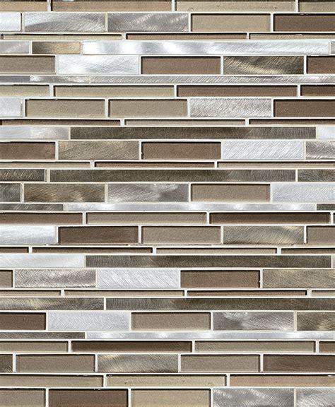 metal tiles for kitchen backsplash brown metal glass mixed mosaic kitchen backsplash tile