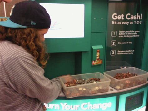 Coinstar Gift Card Machine - seriously convert change to facebook credits at coinstar destructoid