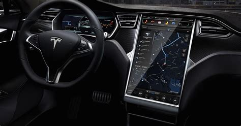 Tesla Model S Dashboard Tesla Upgrades The Model S
