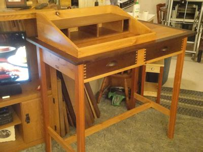 standing writing desk woodworking blog