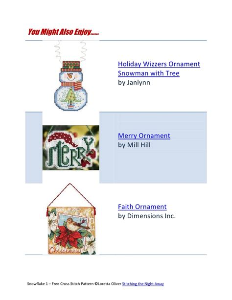 cross stitch patterns ornaments snowflake ornament free cross stitch pattern