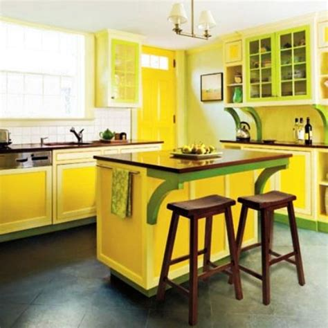 20 modern kitchens decorated in yellow and green colors 20 modern kitchens decorated in yellow and green colors