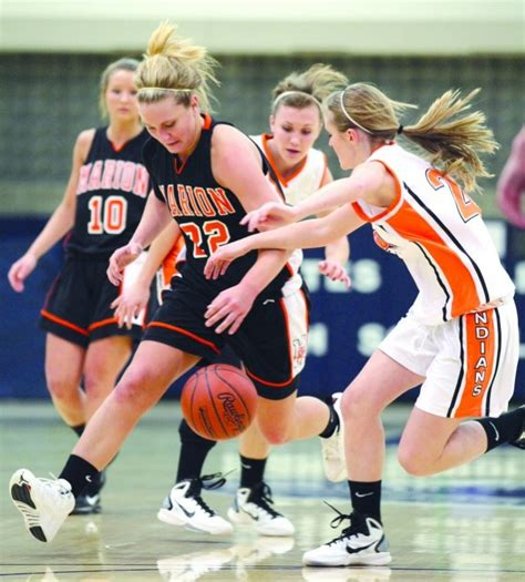 Section V Girls Basketball Marion Repeats As Chion