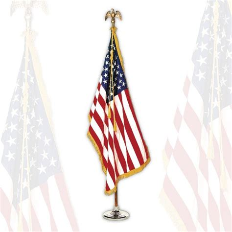 Buy Statesman American Flag Set Buy Indoor Flags Flag Store Usa