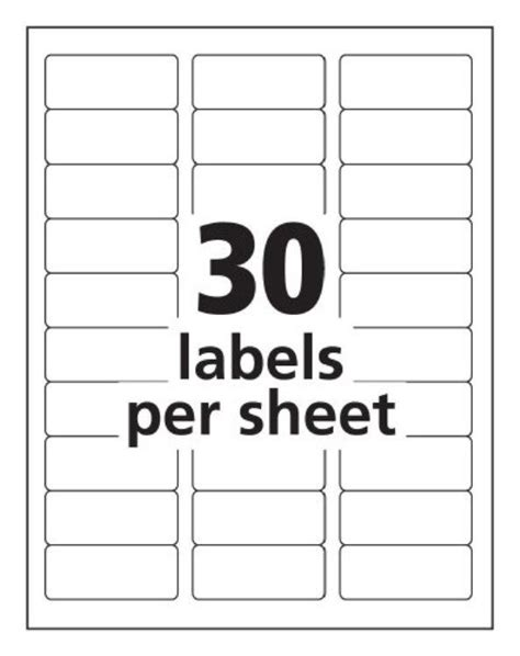 template for address labels 30 per sheet avery templates 5160 antiquebertyl