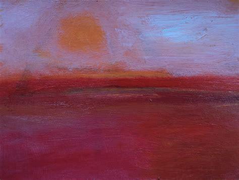 acrylic paint sun sun and field by heidi daub acrylic painting