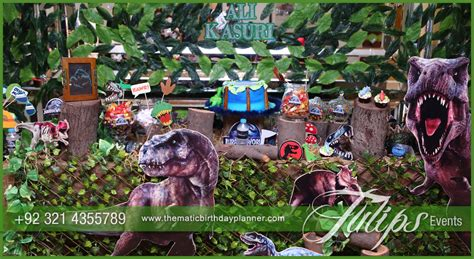 kid party invitations jurassic world party theme decor ideas in pakistan