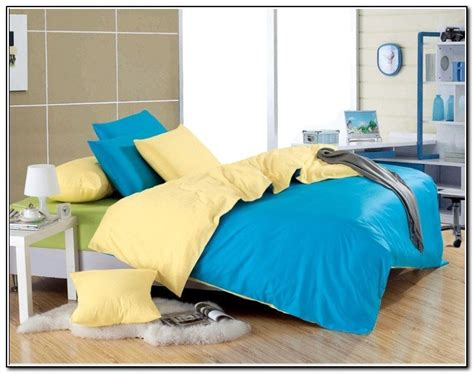 Blue And Yellow Bedding Sets by Yellow And Blue Bedding Sets Beds Home Design Ideas