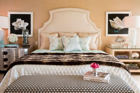 peach and white bedroom photos hgtv