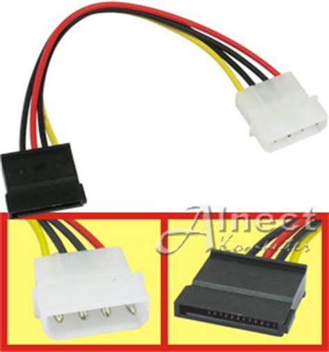 Tktm Kabel Power 4 Pin Power Sata Diskon jual kabel power hardisk serial ata kabel power alnect komputer web store