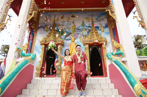 Wedding Blessing Buddhist by Buddhist Blessing Ceremony Package 001 Samui Thailand
