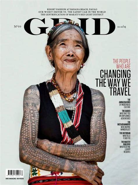 magazine layout artist jobs philippines bid to declare kalinga tattoo artist whang od as a