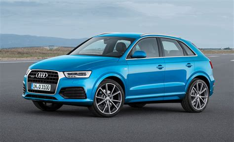 Audi Q3 Neues Modell 2016 by 2016 Audi Q3 Showcased At Naias Autocolumn