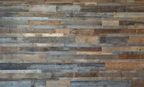 salvaged wood feature wall paneling original antique texture reclaimed