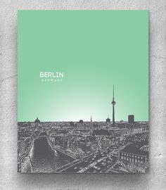 decorart joao pessoa leipzig germany skyline pop art office poster home