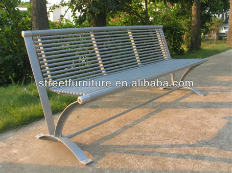 hot sale park bench parts metal park benches for sale used