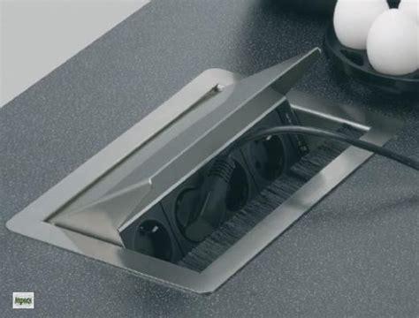 edelstahl arbeitsplatten evoline einbausteckdose arbeitsplatten steckdose edelstahl