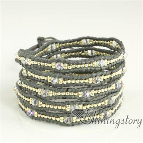 leather wrap bracelet wholesale popular bracelets beaded