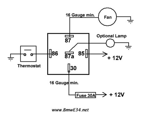 electric fan relay wiring diagram 10 electric fan relay wiring diagram cable diagram