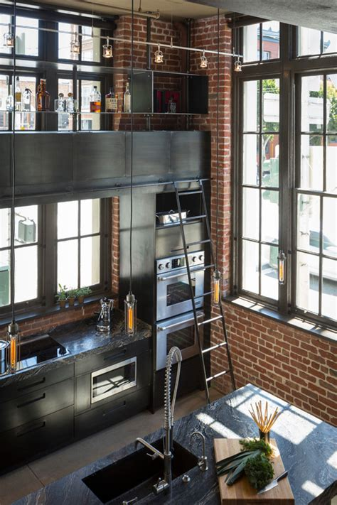 The Kitchen Sf by Industrial Style Kitchen Design Ideas Marvelous Images