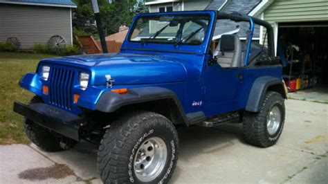 1994 Jeep Wrangler Yj For Sale 1994 Jeep Wrangler Yj With 328 Chevy Small Block For Sale