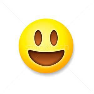 Online Landscape Design Service emoticon laughing emoji smile symbol vector illustration