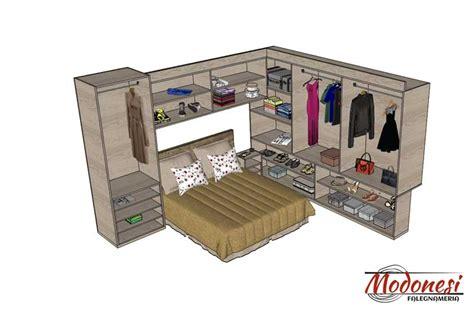 camere da letto con armadio a ponte armadio a ponte su misura per da letto piccola