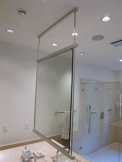 Hanging Mirror Hanging A Bathroom Mirror