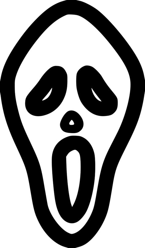 horror mask svg png icon